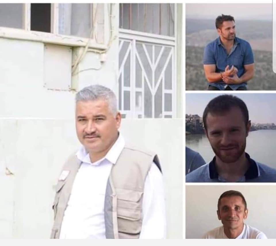 """إطلاق سراح ثلاثة متطوعين فرنسيين في منظمة """"مسيحيو الشرق""""، مع مرافقهم العراقي"""