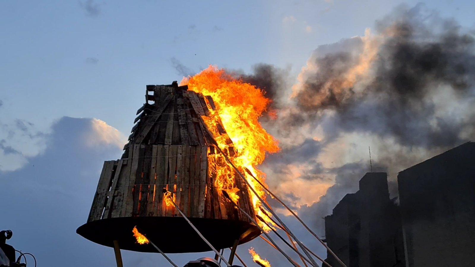 إيقاد شعلة نوروز في أربيل
