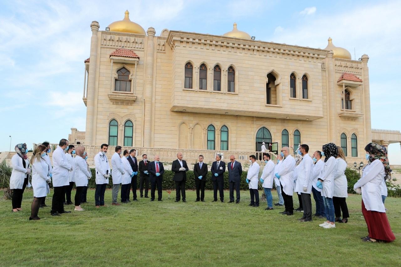 خلال استقباله عدداً من الكوادر الطبية.. رئيس الجمهورية: جهودكم المخلصة والمتميزة ستُذكر عبر التاريخ.