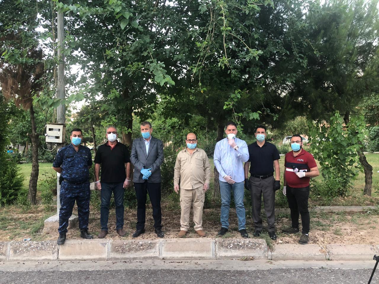 البدء بعمليات الحجر الصحي لمنطقتين في بلدة عنكاوا