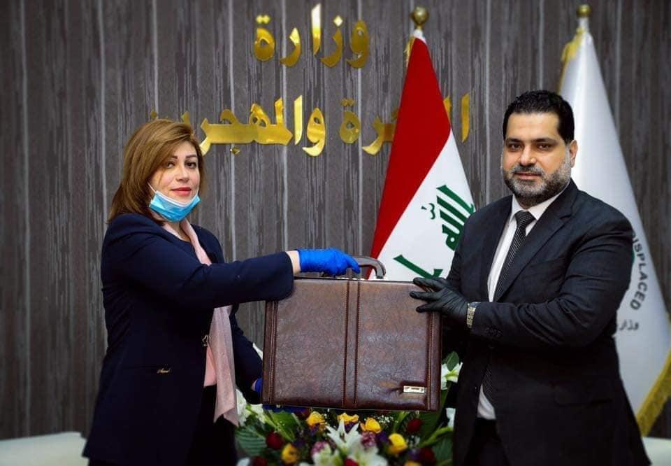 إيفان فائق تستلم وزارة الهجرة والمهجرين اليوم رسميا في بغداد