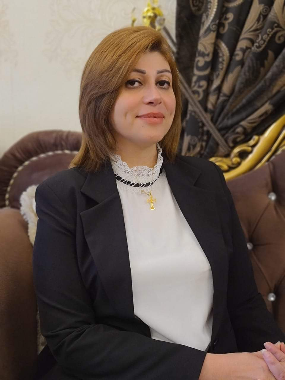 إيفان جابرو وزيرة للهجرة والمهجرين في الحكومة العراقية الأنتقالية