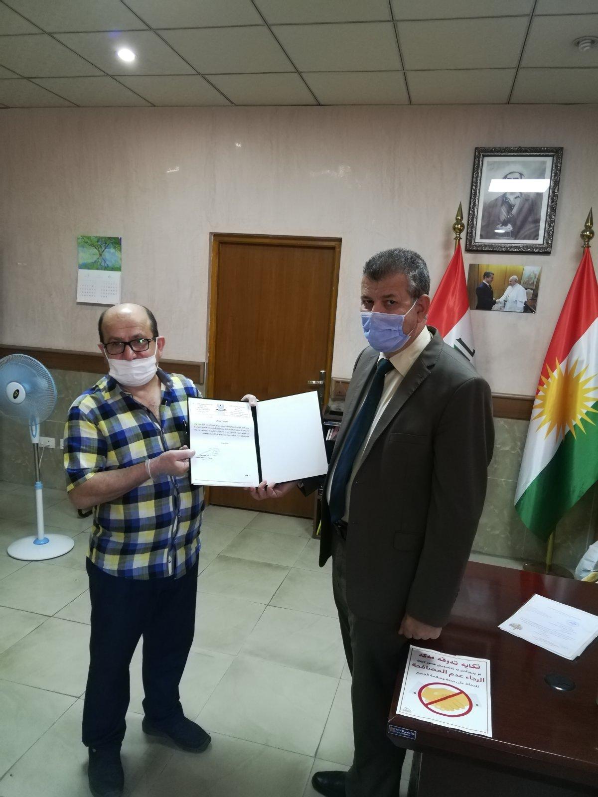 ناحية عنكاوا تشكر مؤسسة سورايا في حملاتها التوعوية لمكافحة فايروس كورونا