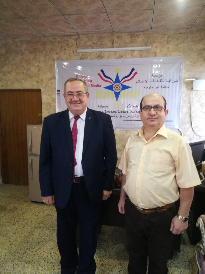 النائب سالم الشبكي يزور مؤسسة سورايا