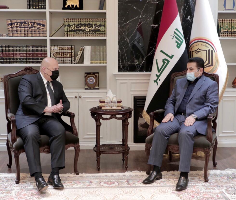 مستشار الأمن القومي السيد قاسم الأعرجي يستقبل رئيس فريق التحقيق التابع للأمم المتحدة الخاص بمساءلة داعش