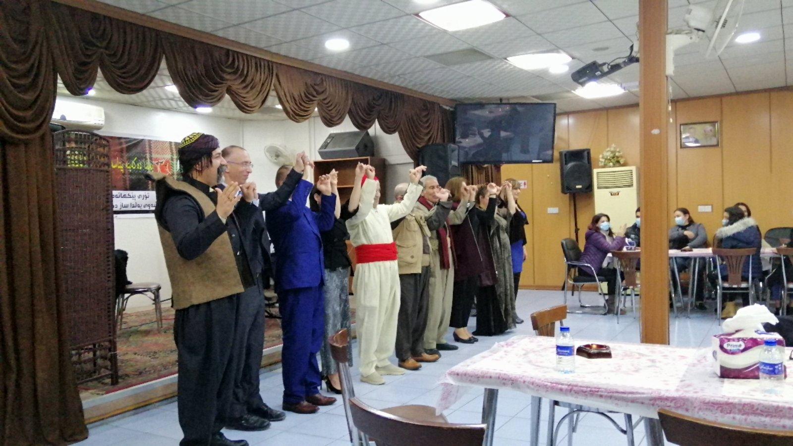 شةوي يةلَدا ..ليلة مشتركة للمكونات أحيتها شبكة مكونات كوردستان في مقر الصابئة المندائين